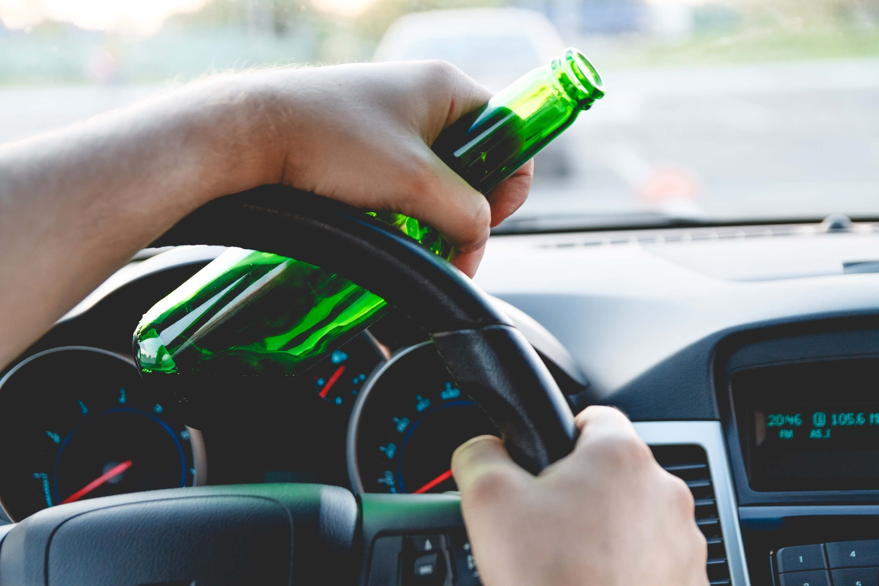 Driving with beer - California zero tolerance law